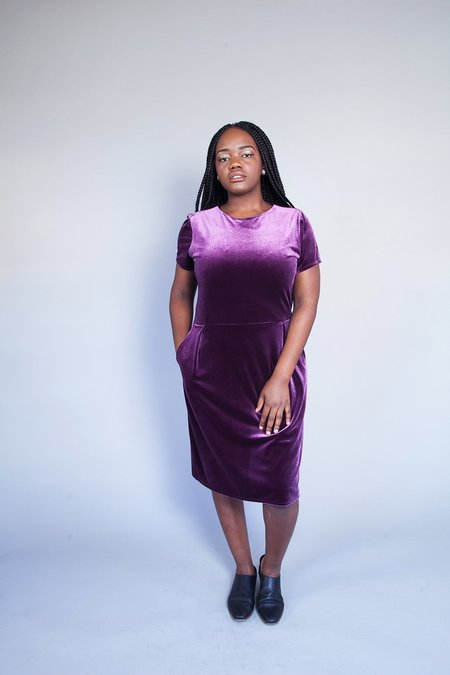 Dagg & Stacey March Dress Violet