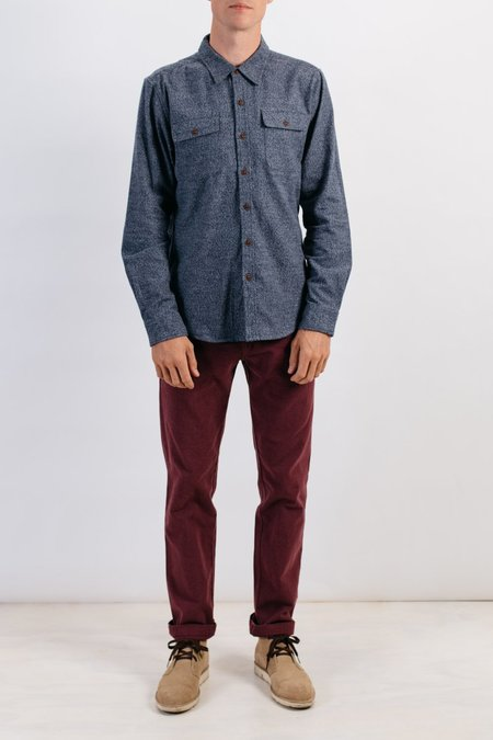 Bridge & Burn Bedford in Navy Heather