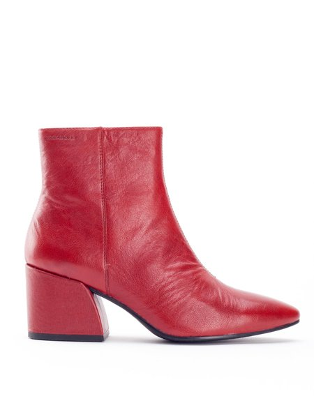 Vagabond Olivia Leather Boot Red