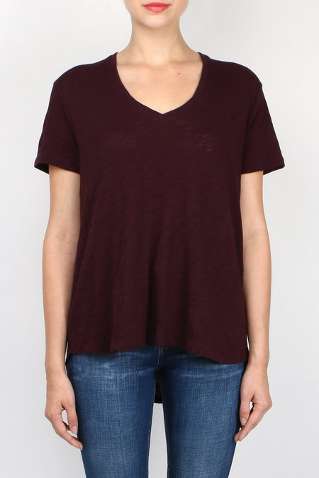 ATM Knit Boyfriend V-Neck Tee