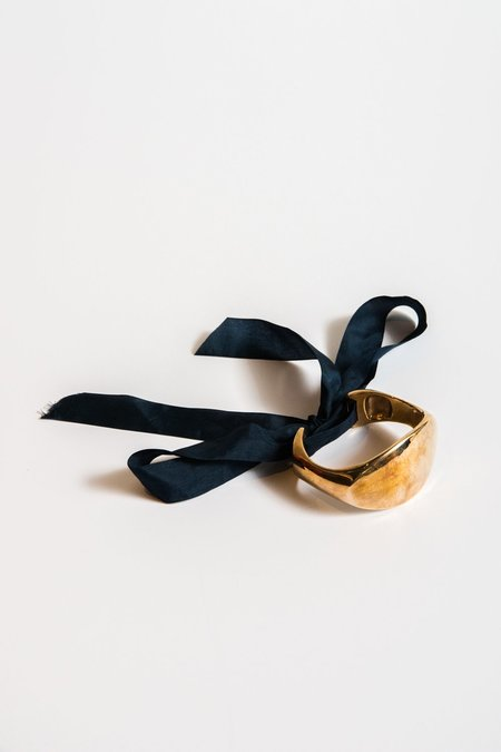 Ursa Major Ribbon Cuff Navy in Bronze