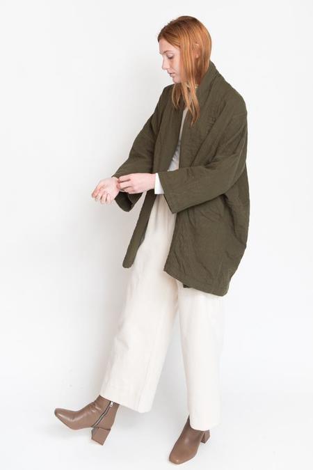 Atelier Delphine Haori Coat - Hunter Green