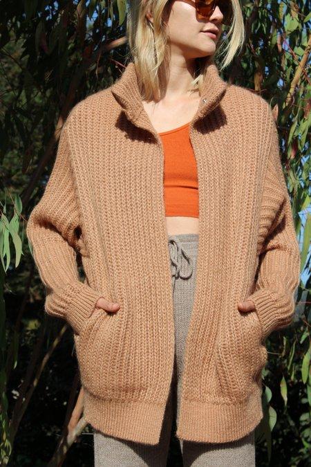 Reality Studio Iris Knit Jacket - Camel