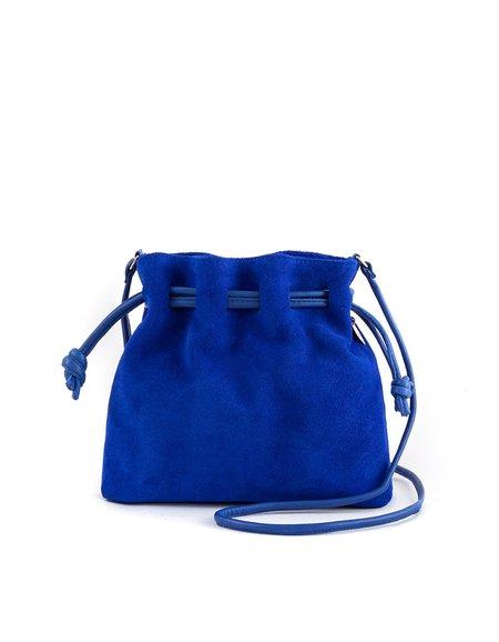 Clare V. Petit Henri Maison - Royal Blue Suede