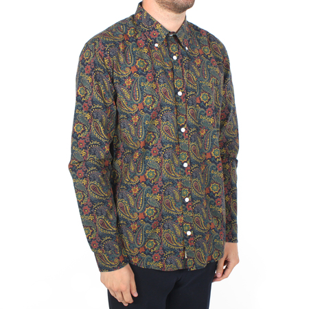 Afield Mod Button Down - Paisley