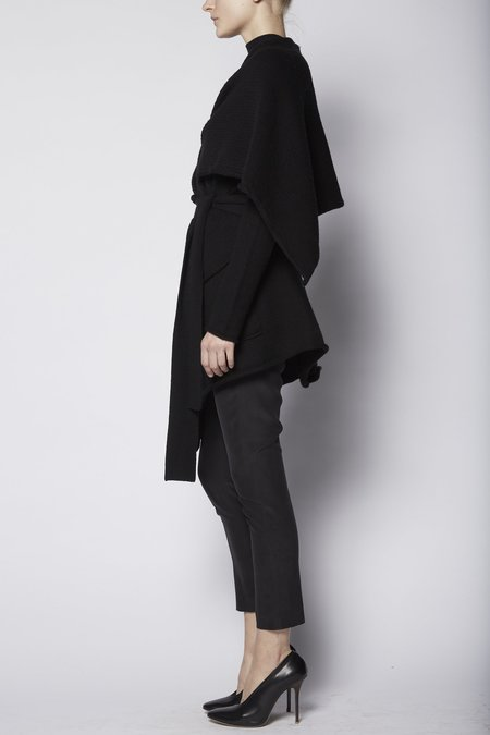 KES Silk Earth Trouser - BLACK