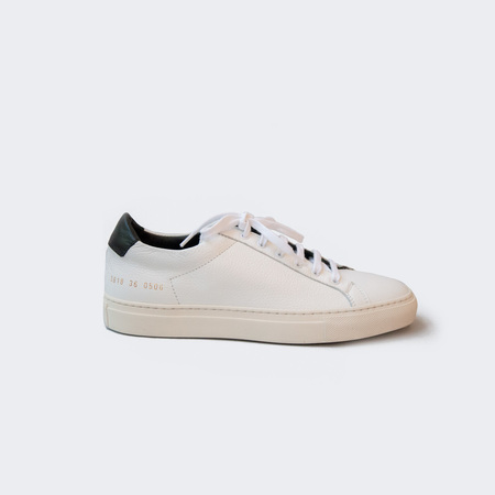 Woman by Common Projects Achilles Retro Low - White