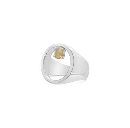 Tarin Thomas Charles Ring - Sterling Silver