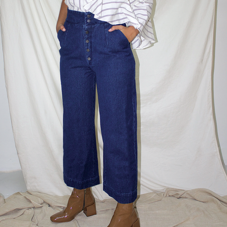 Ajaie Alaie Vuela Pants - Dark Denim