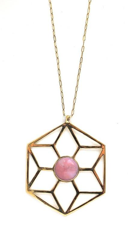 Entropy Sacred Geometry Necklace