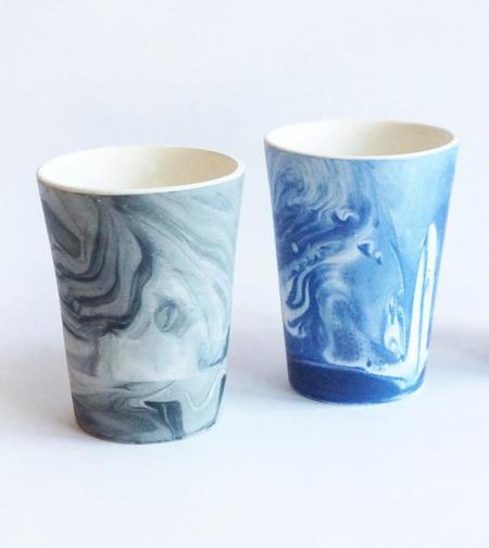 Workaday Handmade Marbled Tumbler
