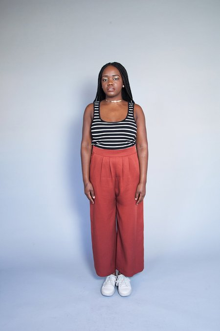 Eve Gravel Northern Soul Pants - Brick