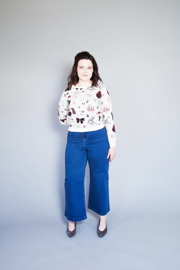 Samantha Pleet Cuddle Shirt - Collage Print