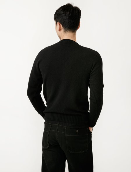 Neighbour Superfine Wool Sweater - Nero