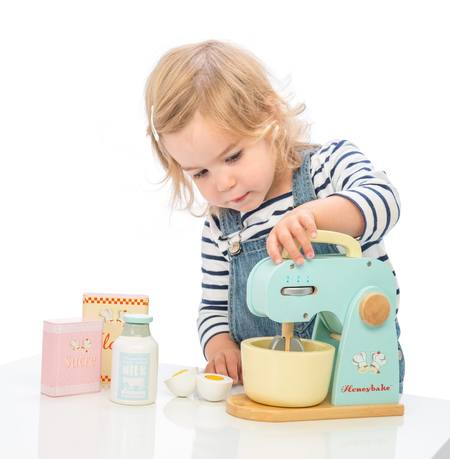 Kids Le Toy Van Wooden Mixer Set