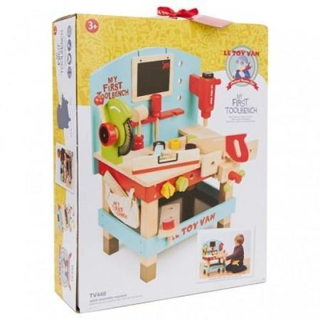 Kids Le Toy Van My First Wooden Tool Bench
