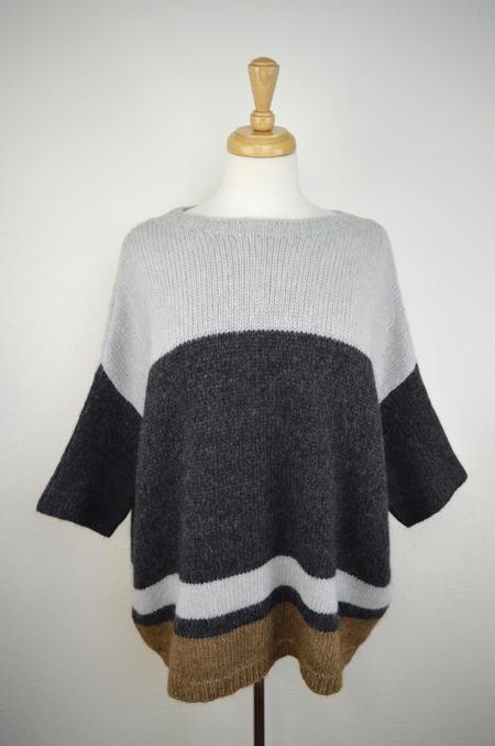 sita murt Oversize Colorblock Sweater