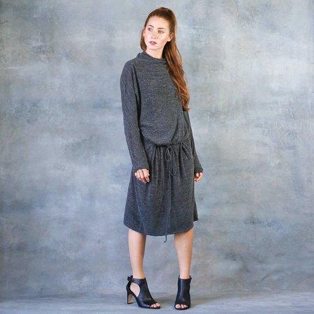 Humanoid Wool Jersey Deidre Dress in Ash