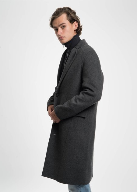 Harmony Dark Grey Martin Cashmere Coat