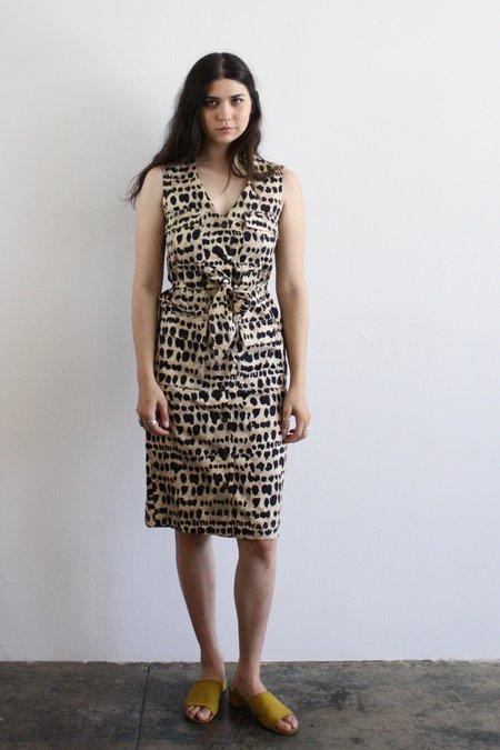 Rachel Antonoff Hammy Cheetah Cargo Dress