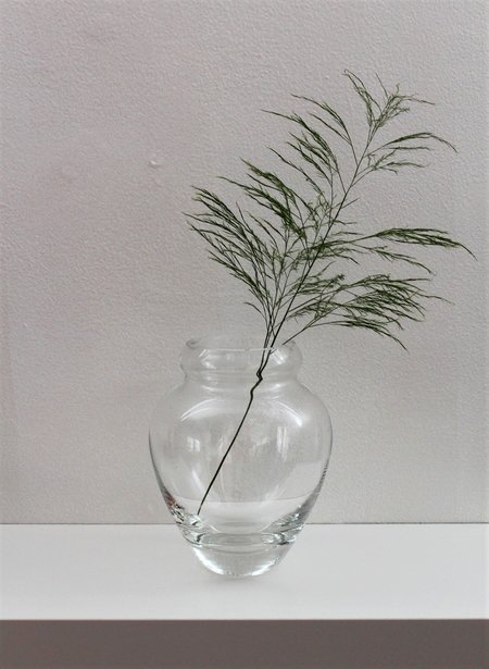 Found + Collected Glass Vase