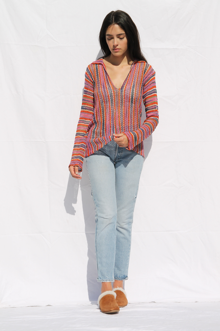 DUO NYC Vintage Missoni Knit Pullover