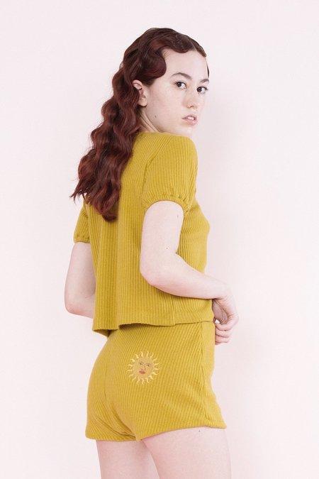 Samantha Pleet Sun Shorts + Moon Shorts