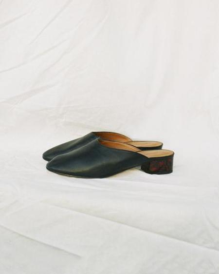 Paloma Wool Pia Mules in Black