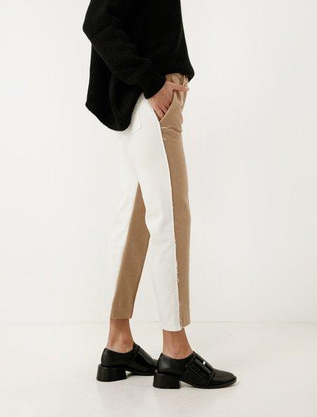 MM6 by Maison Margiela Collage Denim/Wool Pants