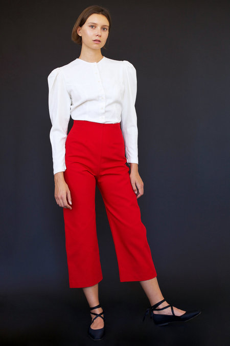 Town Clothes Bixby Pant in Red