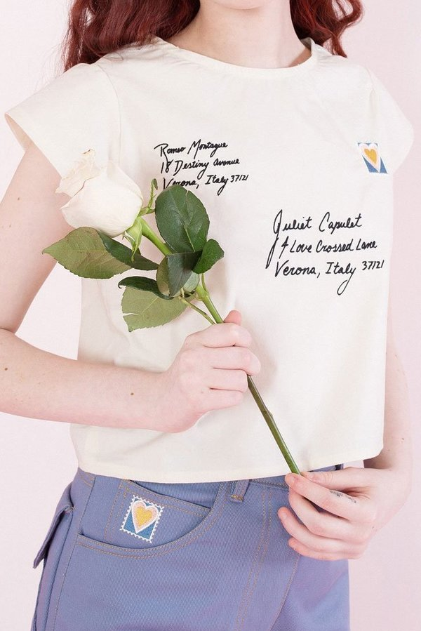 Samantha Pleet Love Letter Blouse