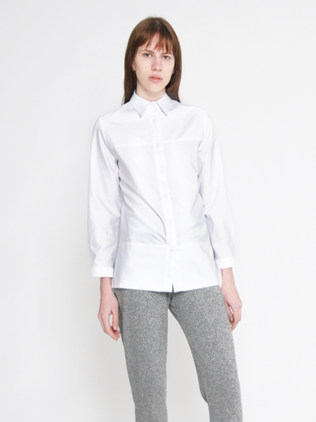 Diarte Pavo Cotton White Shirt