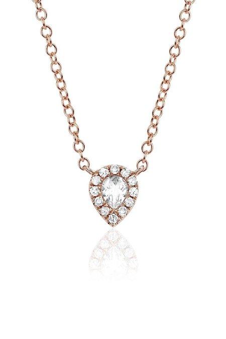 EF Collection Diamond Teardrop Choker