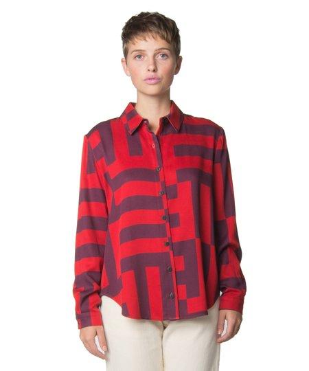 Dusen Dusen Parquet Collared Shirt