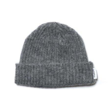 MAPLE Mohair Knit Watch Cap - Grey