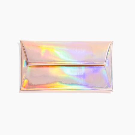 Poketo Hologram Clutch