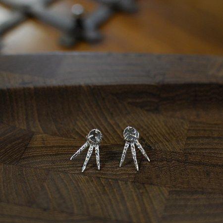 Monica Squitieri Draceana Earrings Sterling Silver