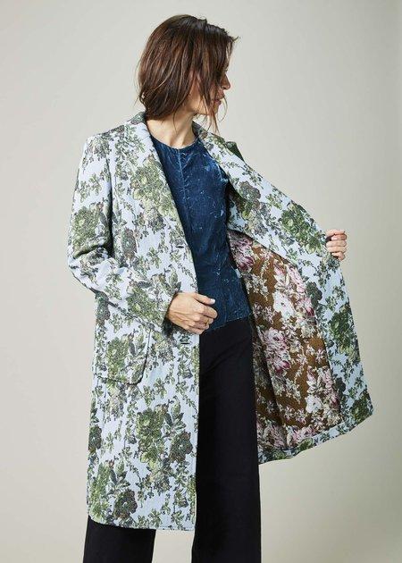 The Gigi Marta Floral Overcoat