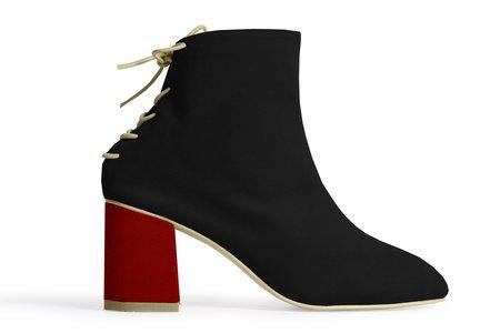 Rafa Sock Boot – Sloe/Ruby
