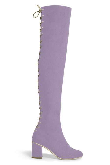 Rafa Stick Boot –Heliotrope