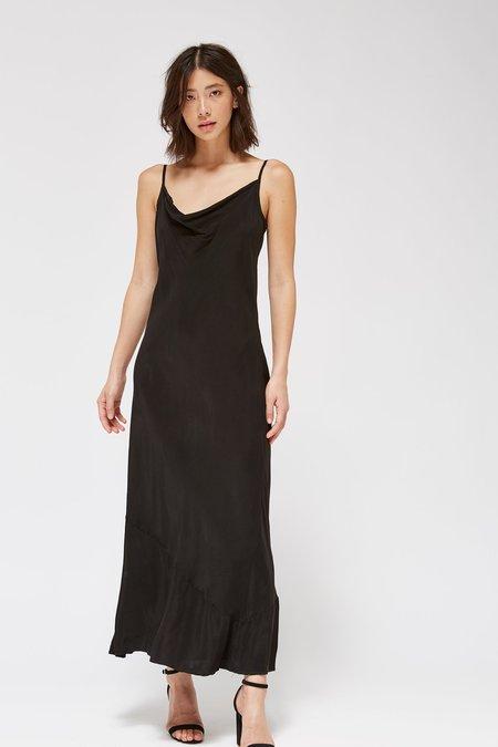 Lacausa Clothing Bias Slip Dress - Tar