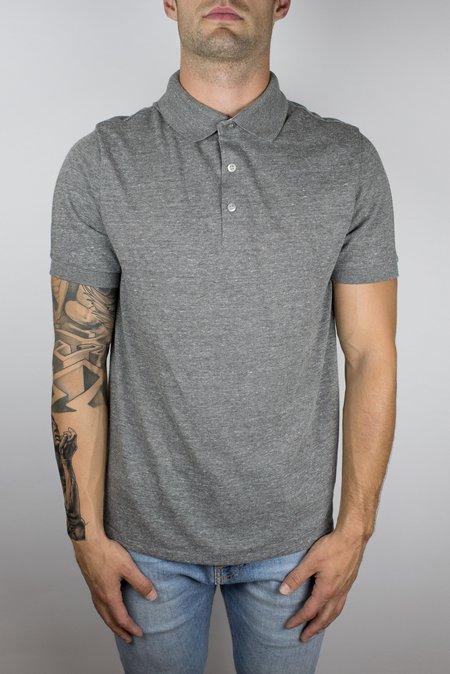 Craft of Lyfe The Bonfire Polo in Light Grey