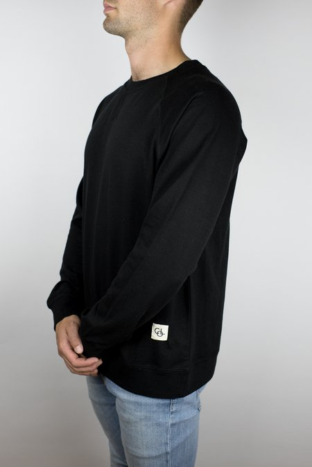 Craft of Lyfe The Passion Raglan in Black