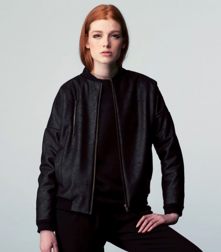Valérie Dumaine Raven Sherpa Jacket