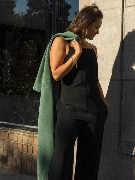 Nomia Cropped Strapped Jumpsuit