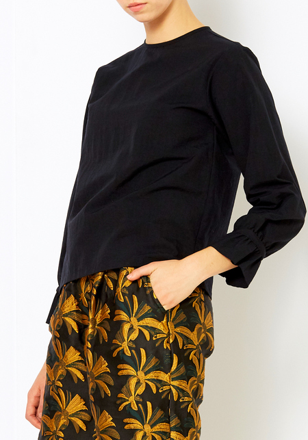 Nikki Chasin Black Sparta Blouse