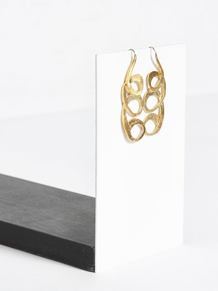 Pari Desai Circe Earrings Brass