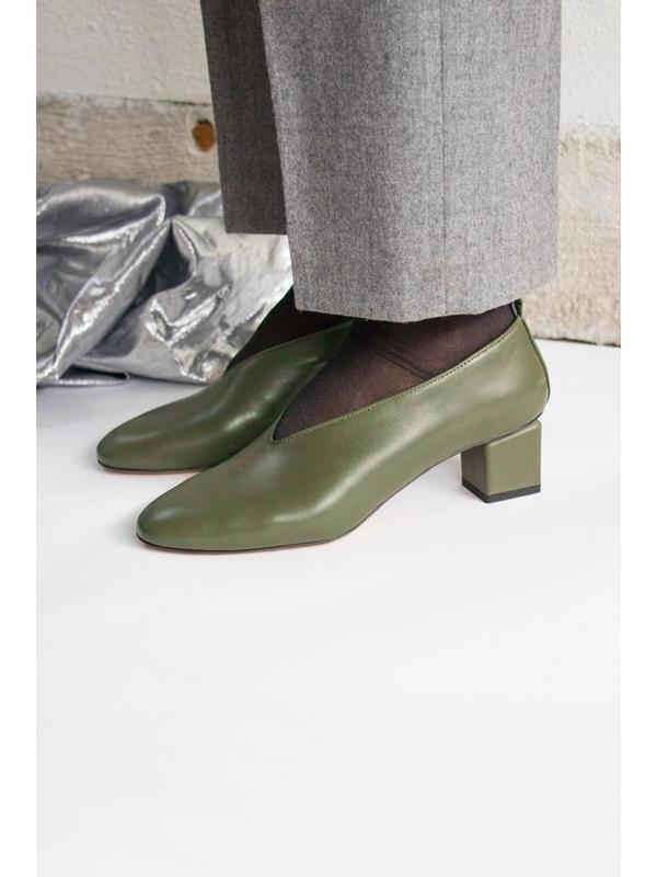 Gray Matters Mildred Heel - Olive