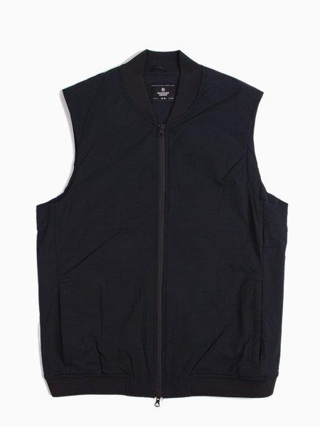 Reigning Champ Insulated Stretch Nylon Vest - Black