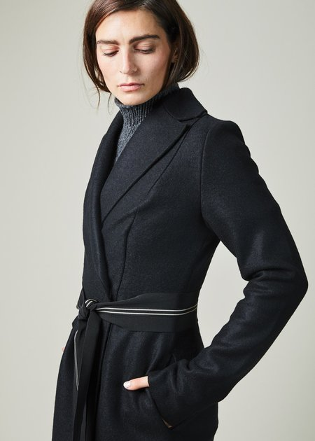 Natalija Jansone Onix Coat with Belt
